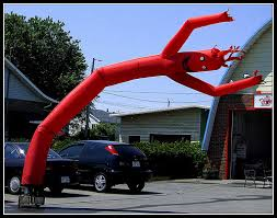 whacky inflatable tube man